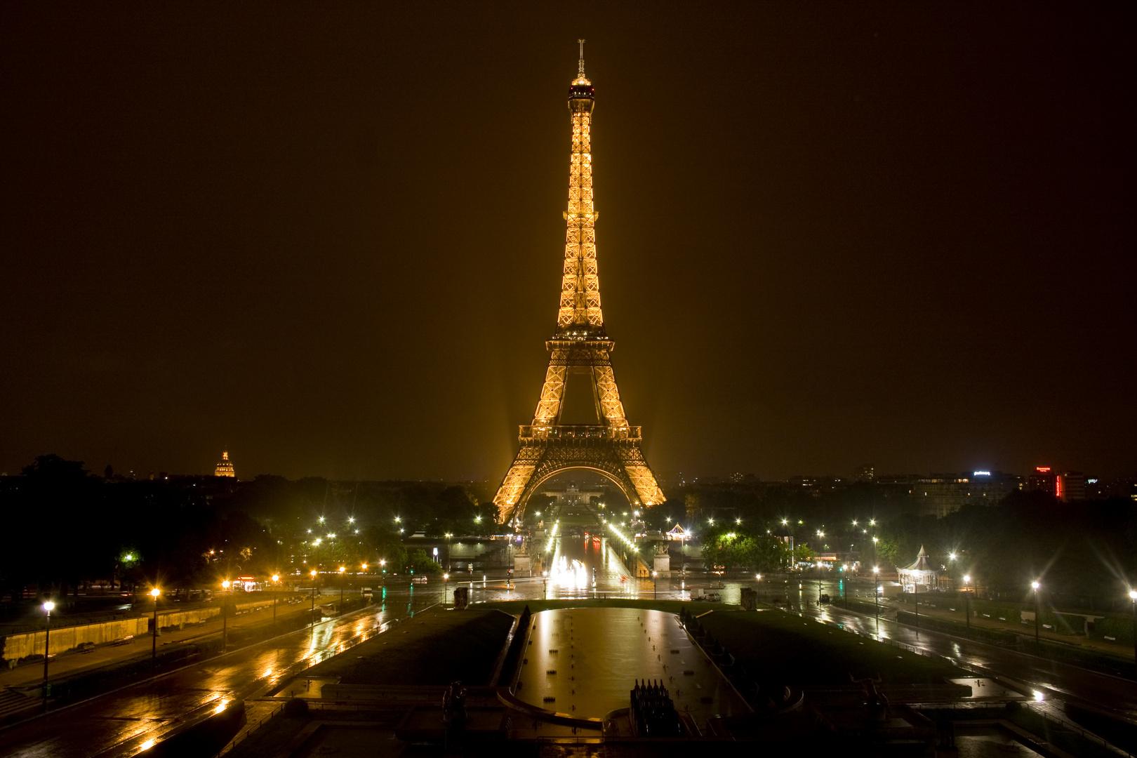 Regenstimmung in Paris