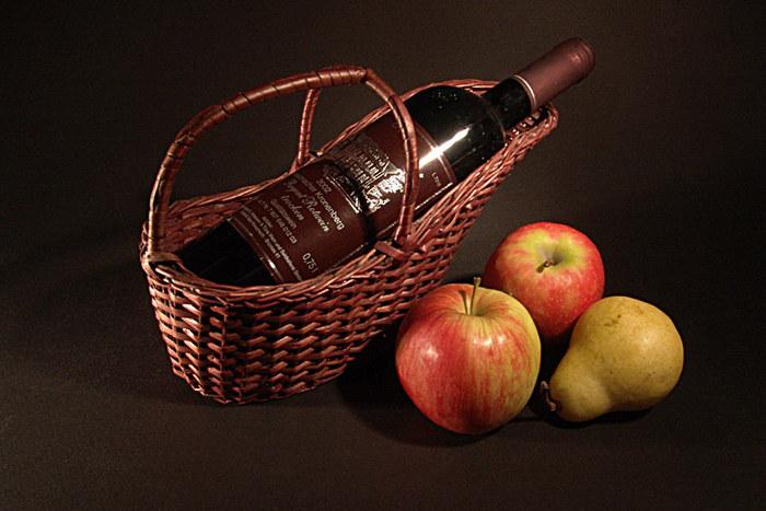 Regent mit Obst