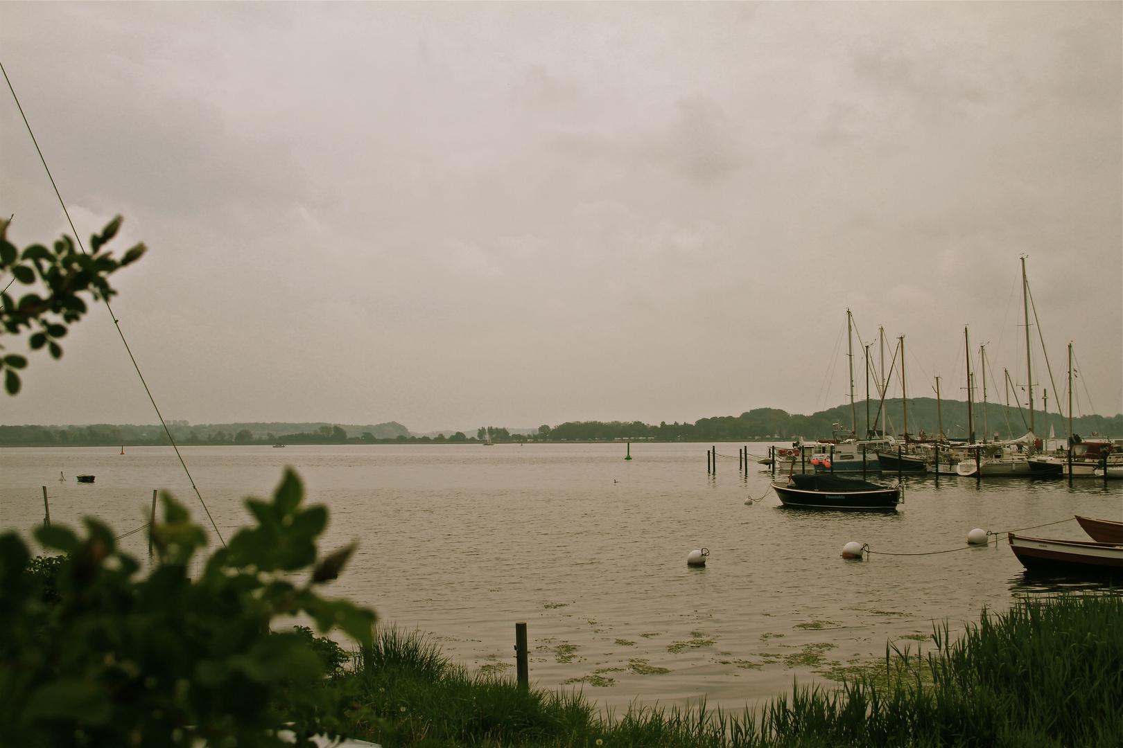 Regentag an der Schlei ...
