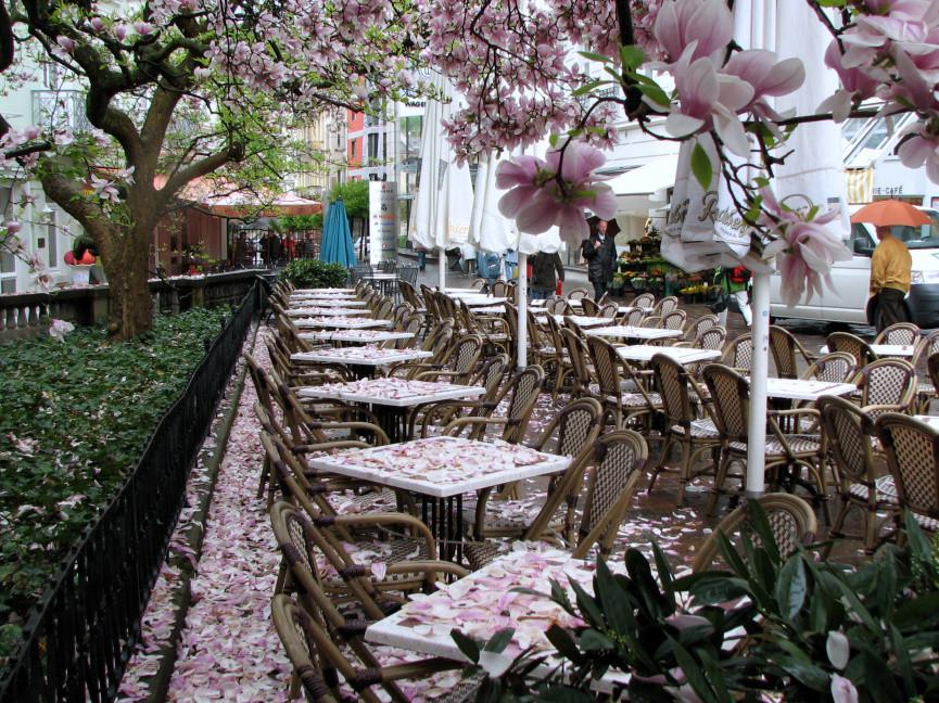 Regentag in Baden-Baden