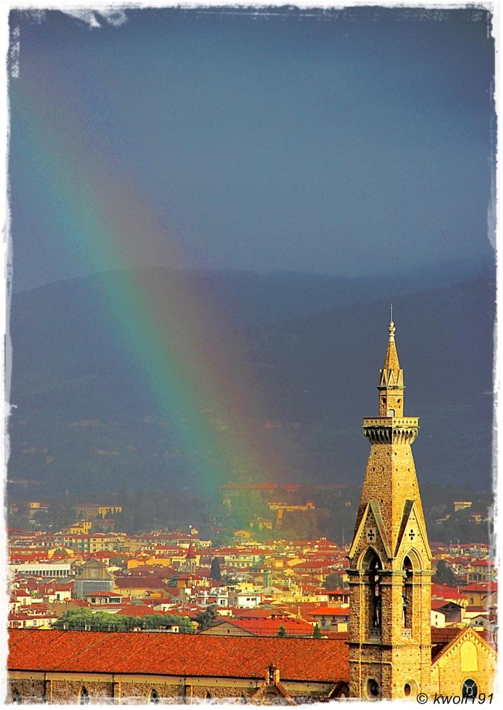 Regentage in Florenz 4