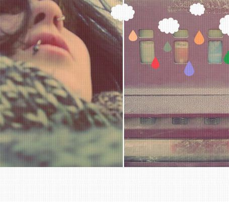 Regentonnen auf meinem Balkon