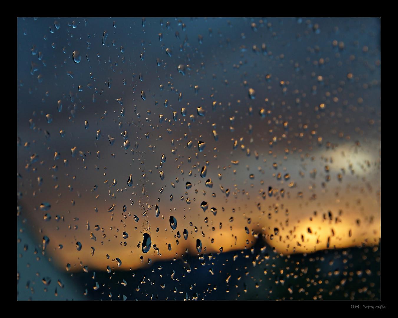 Regentropfenbild
