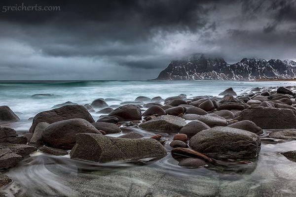 Regenwetter auf den Lofoten