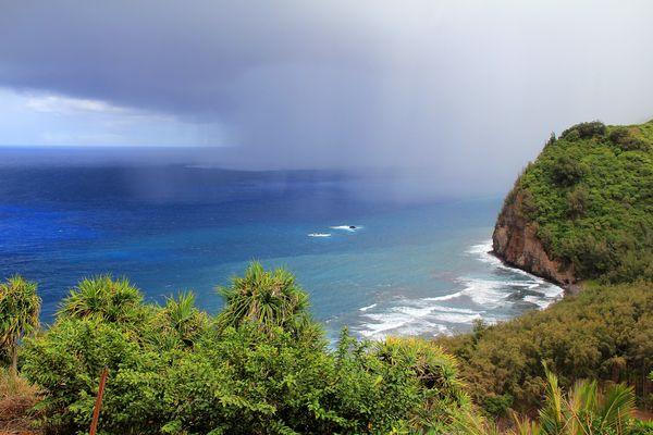 ...Regenwolke im Paradies...