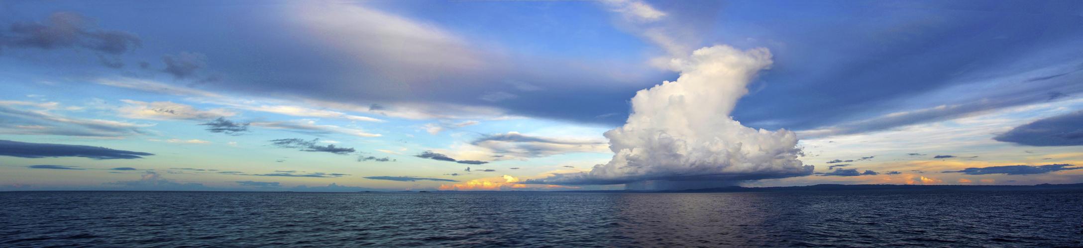 Regenwolke Panorama
