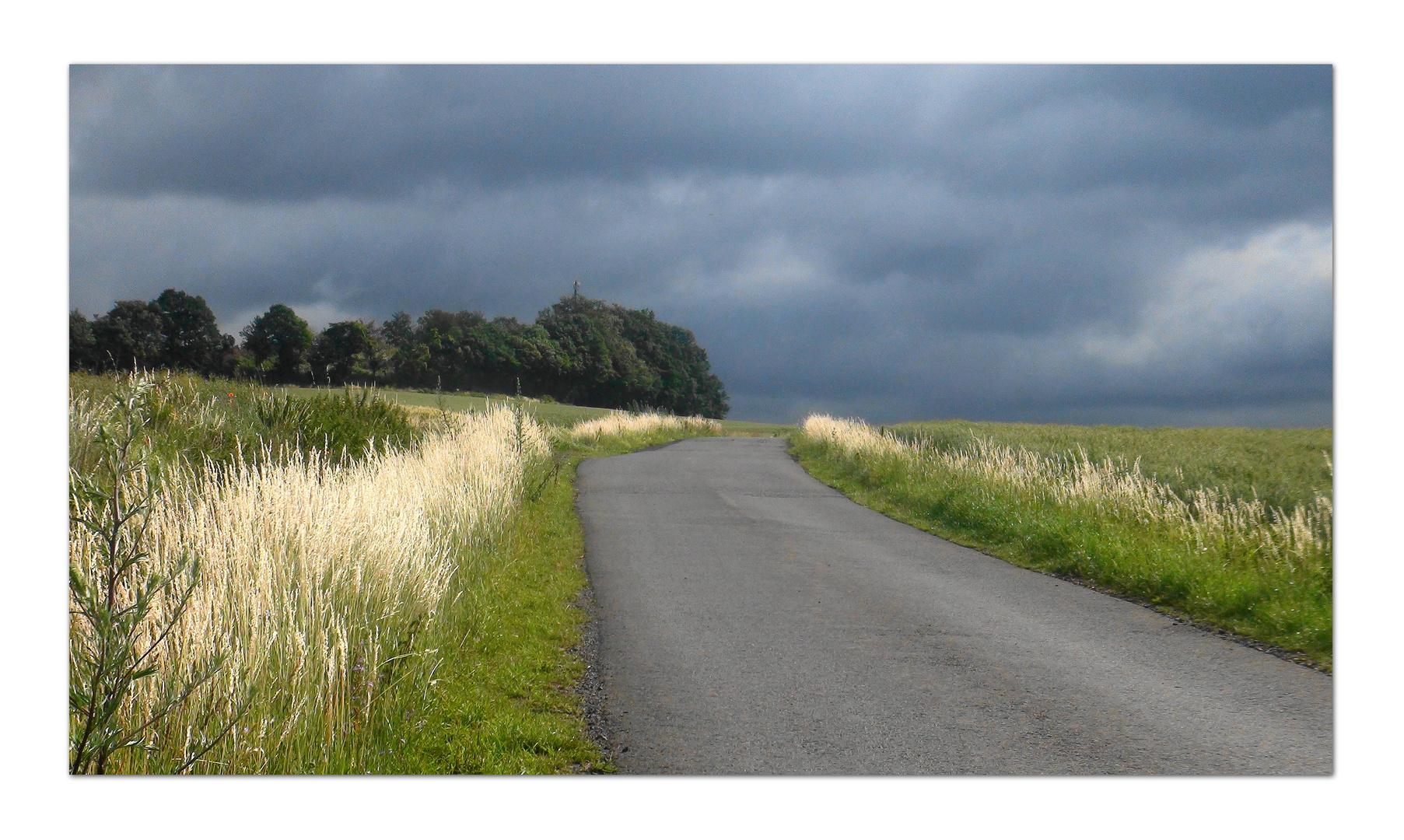Regenwolken im Juli