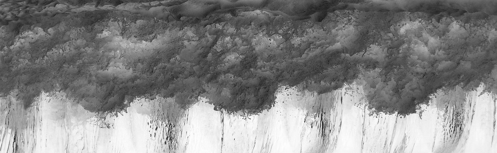 Regenwolken ... oder was?