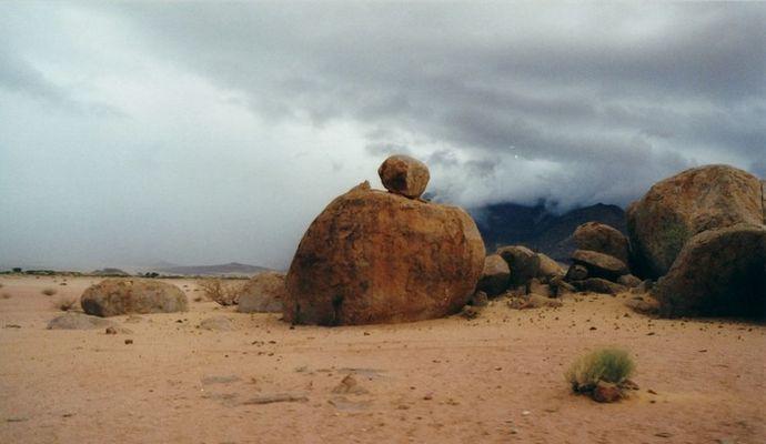 Regenzeit in der Wüste