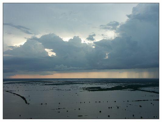 Regenzeit in Kambodscha - Siem Reap, Kambodscha