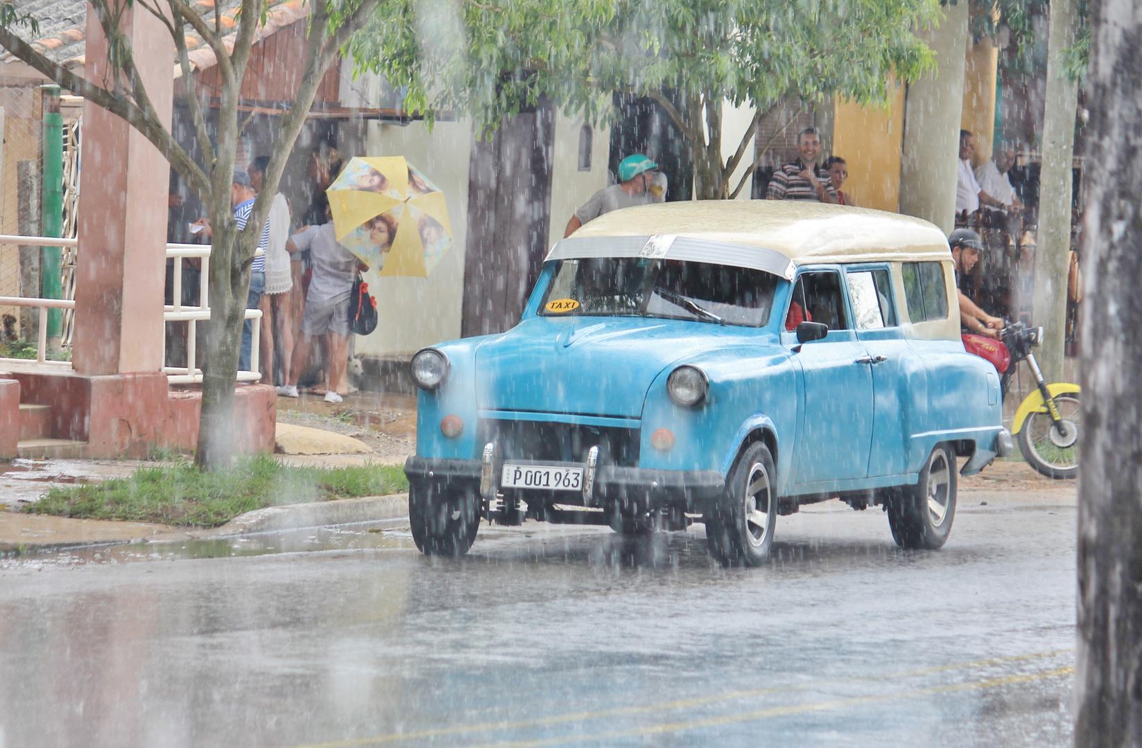 Regenzeit in Kuba 4