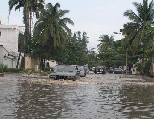 Regenzeit In Lagos