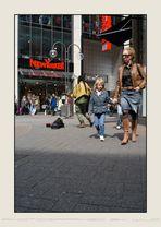 Reggae in Kölntown on the Einkaufsstreet...