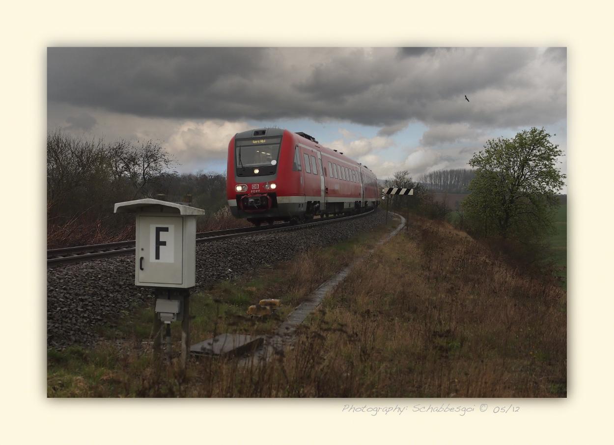 Regio DB 612617 nach Gera