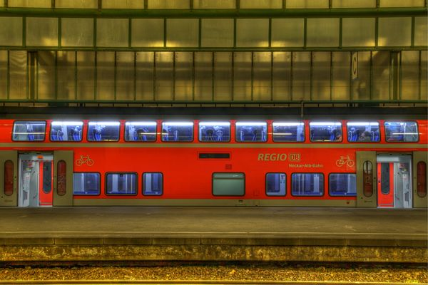 Regionalexpress in HDR (Ende 2008)