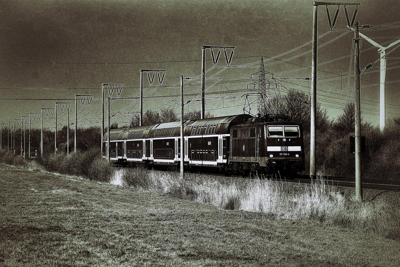 Regionalexpress von Emden nach Münster