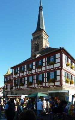 Regionalmarkt in Schwabach - Marktplatz