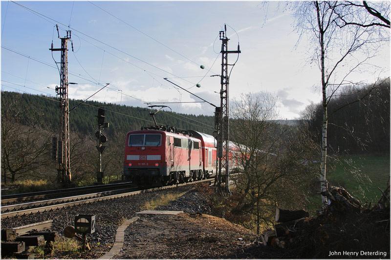 Regionalverkehr in Rudersdorf