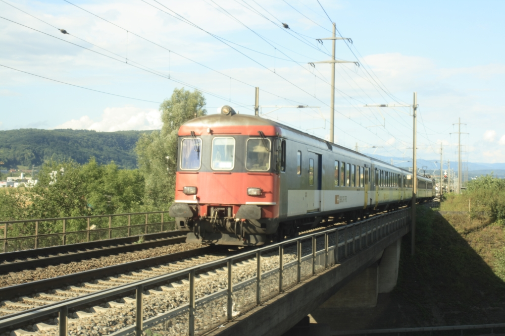 Regionalzug S 1  ''Sahlenweidli''