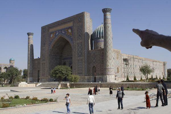 Registan in Samarkand
