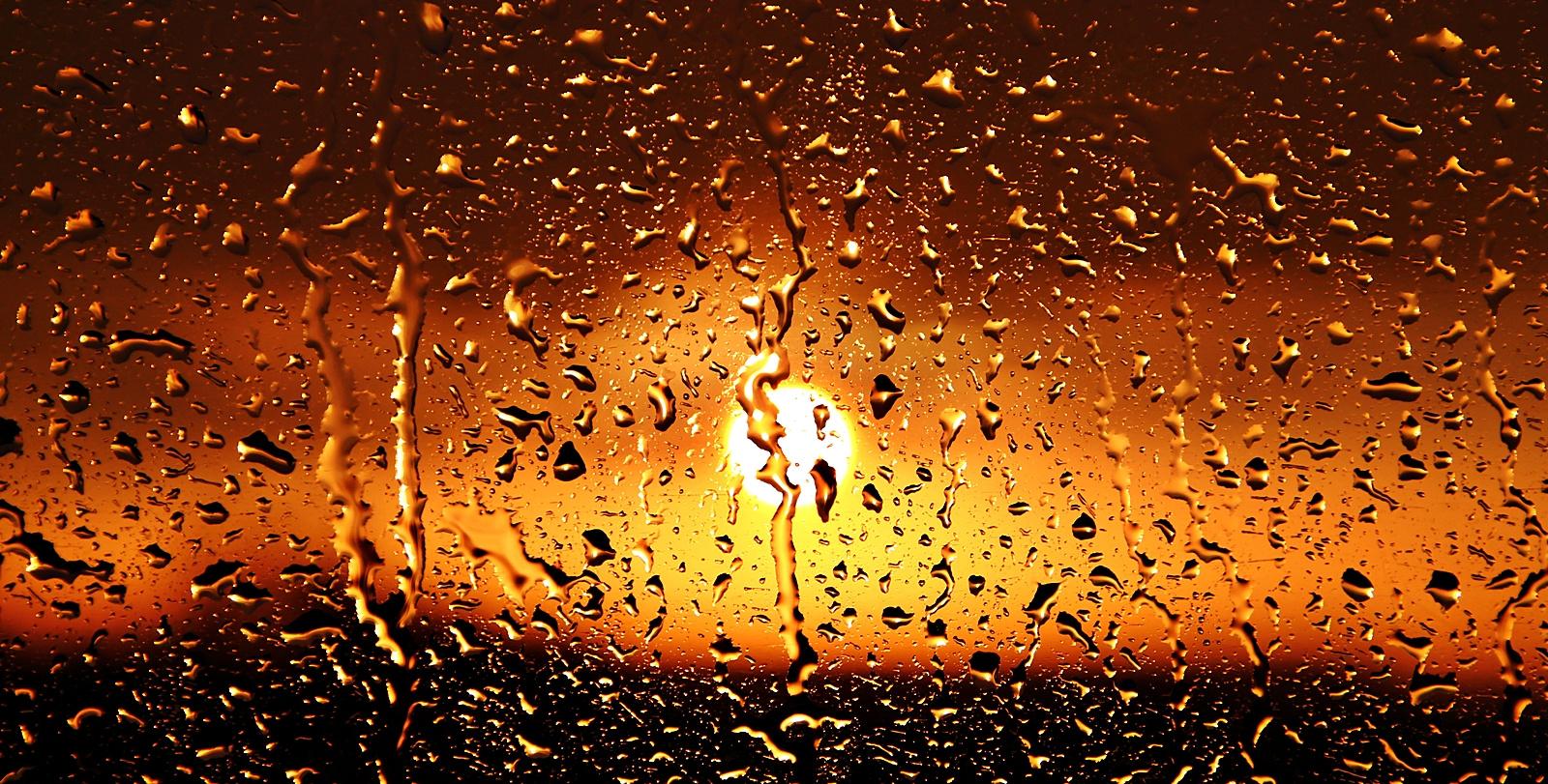 Regnerrischer Sonnenschein!