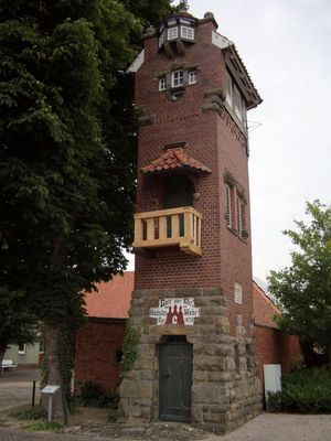 Rehburg, Feuerwehrturm