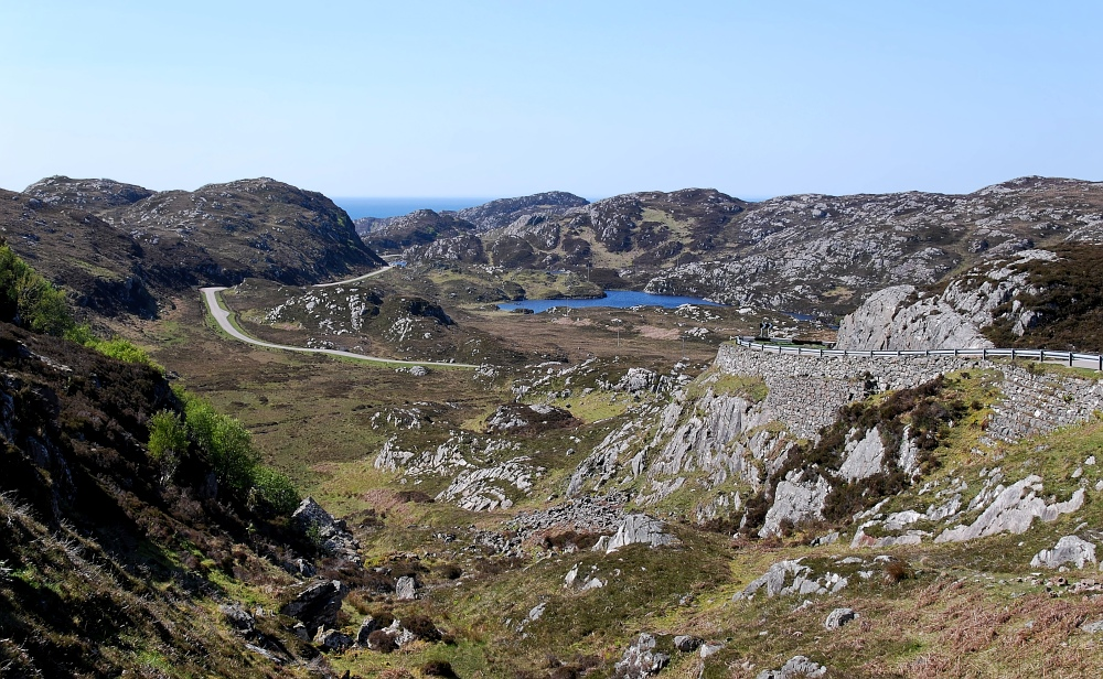 reichlich Stein im Nordwesten Schottlands
