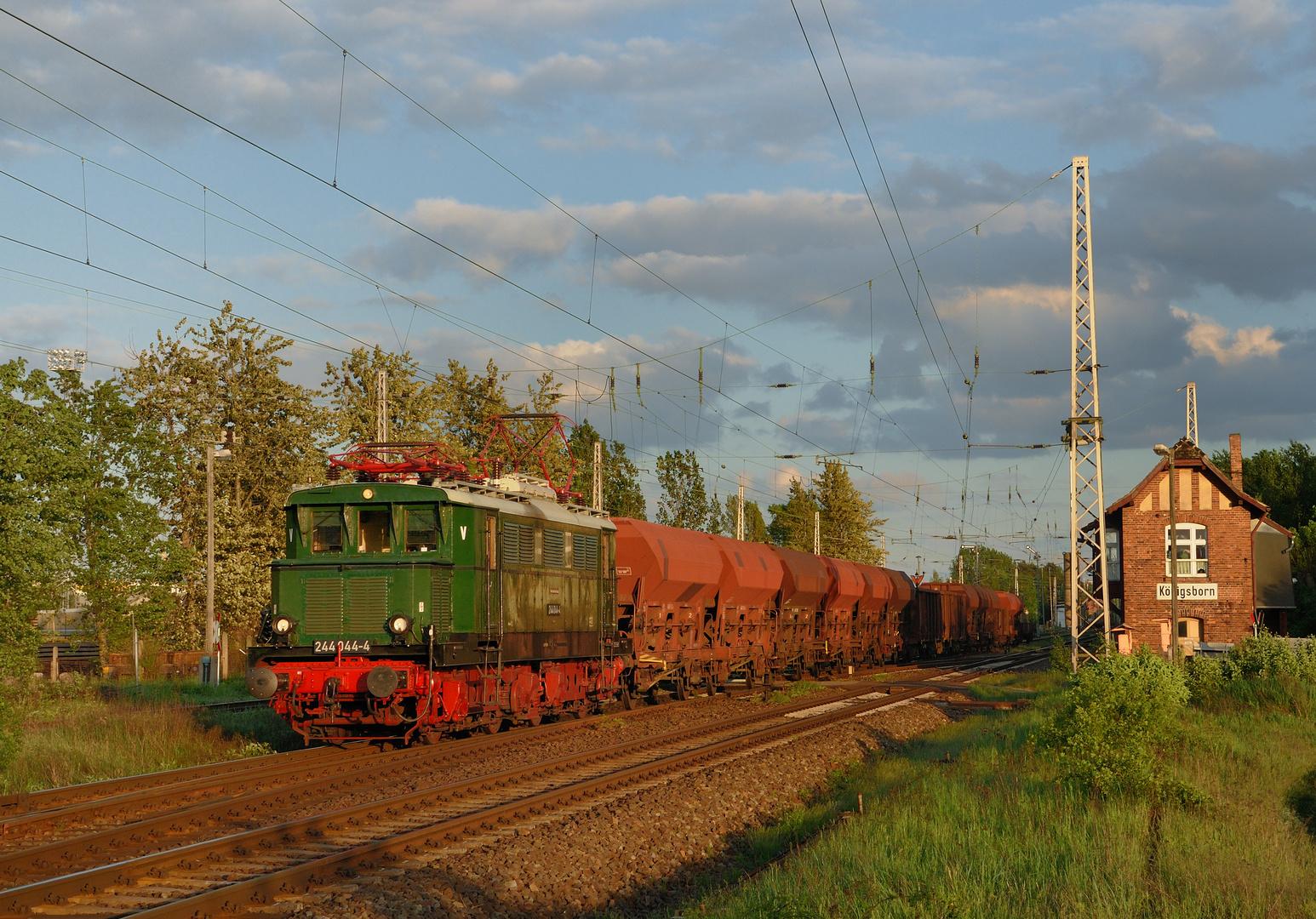 Reichsbahn-Veteran unterwegs