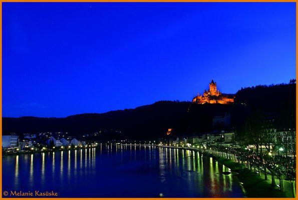 Reichsburg at night