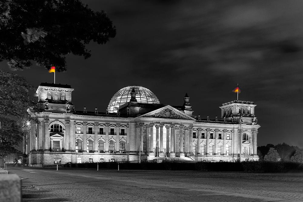 Reichstag Aus der Serie Berlin