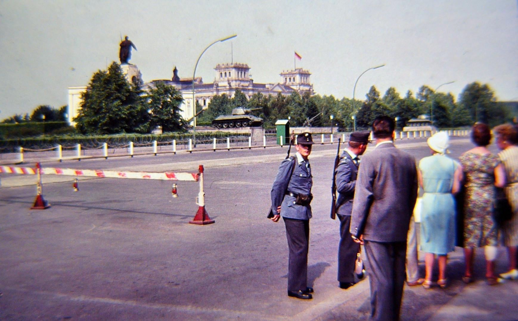 Reichstag Berlin August 1961