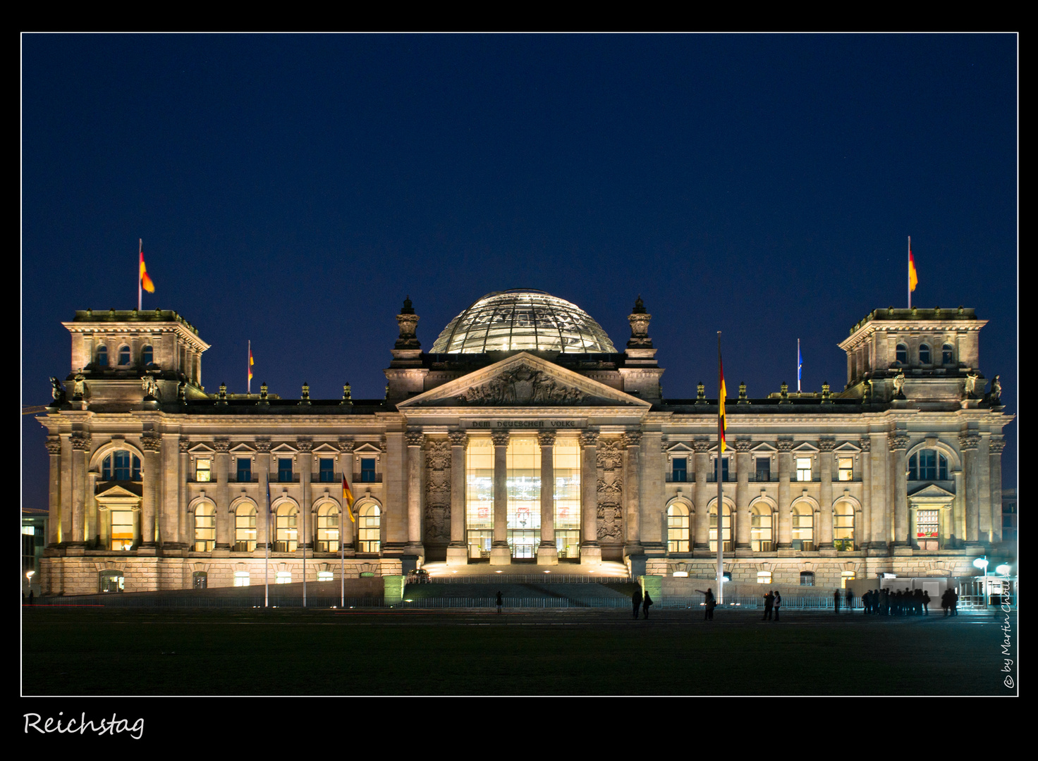 Reichstag by Night