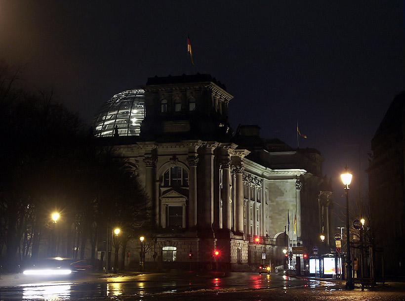 Reichstag einmal anders ( bearbeitet )