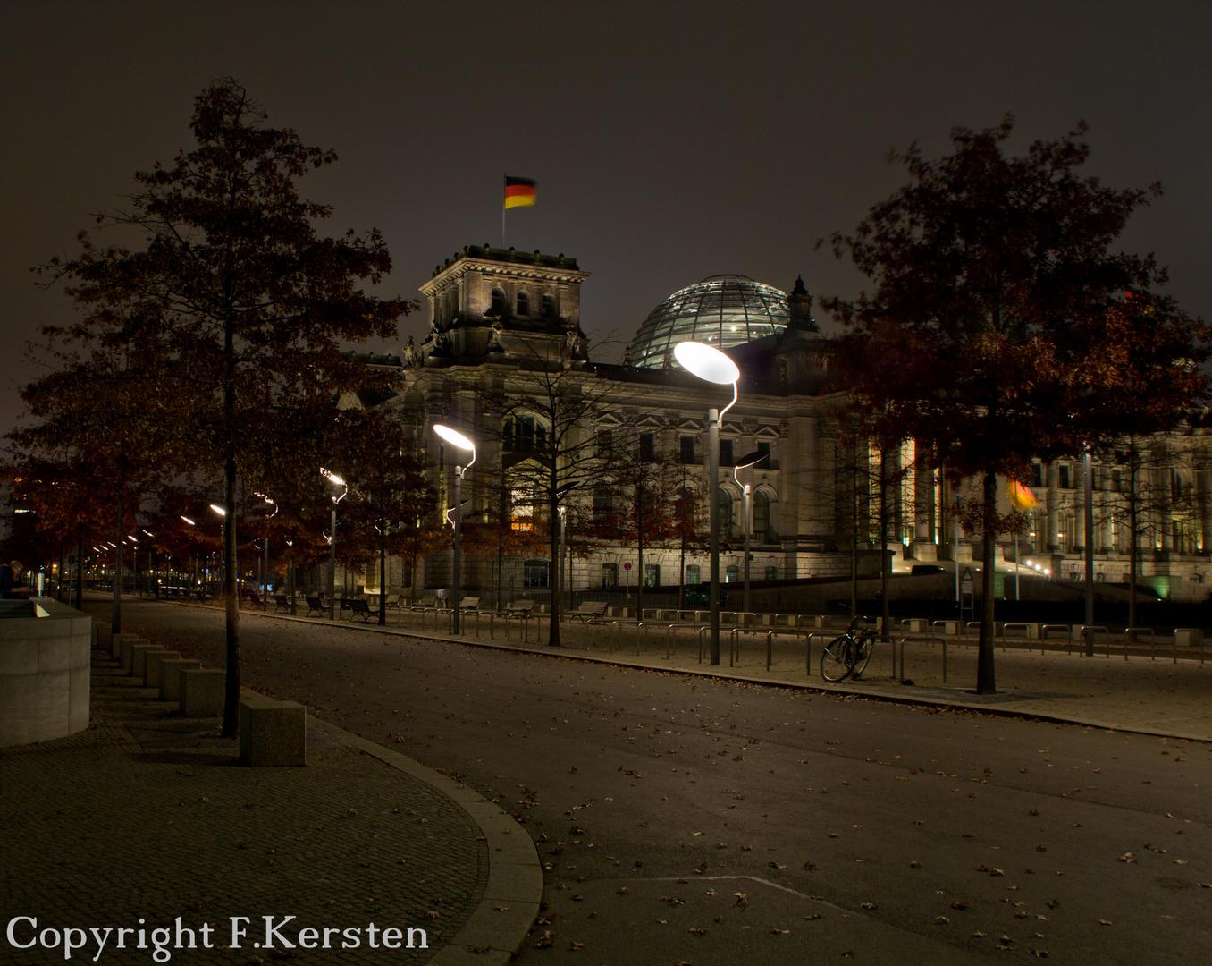 Reichstag im Herbst