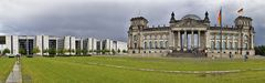 Reichstag regnerisch
