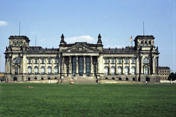 Reichstag, West Berlin, Sommer 1986