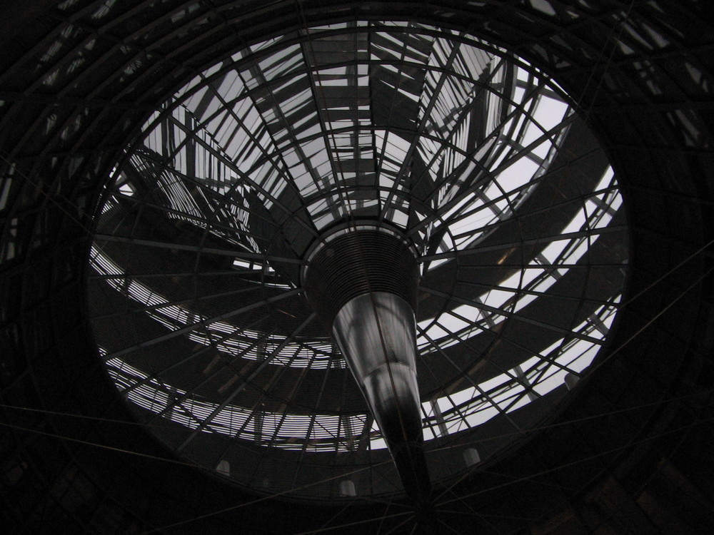 Reichstagsgebäude dachkuppel