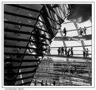 Reichstagskuppel in s/w