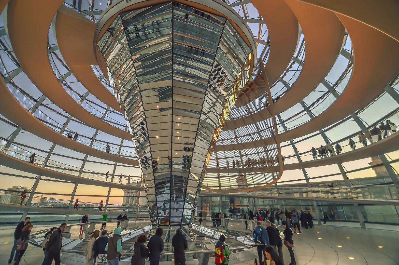 Reichstagskuppel - Oktober 2013