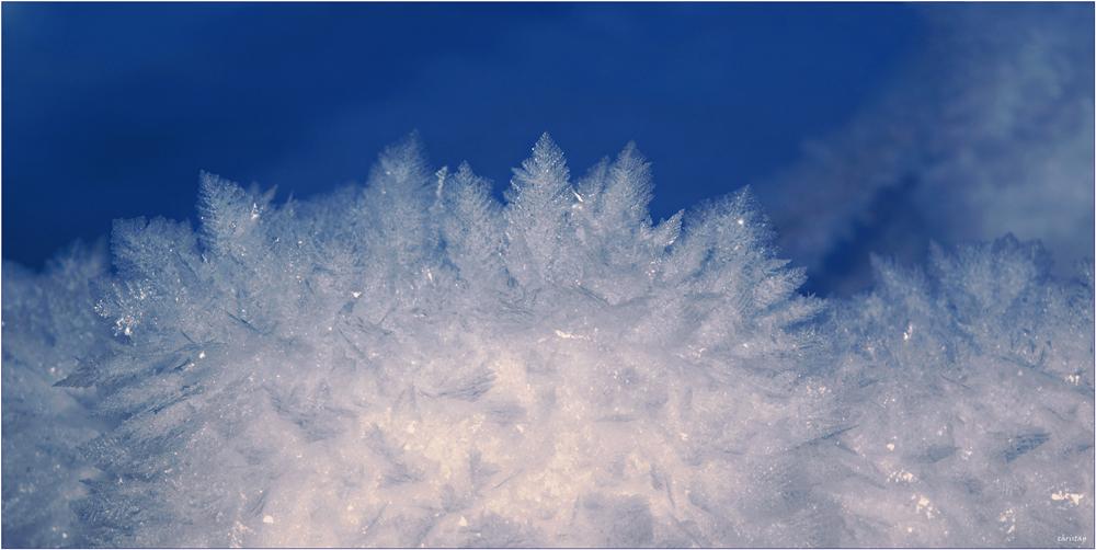 Reif-Schnee-Daunen