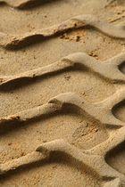 Reifenspuren Sandgrube Tütingen bei Ankum