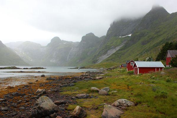 Reinefjord (Isole Lofoten - Norvegia)