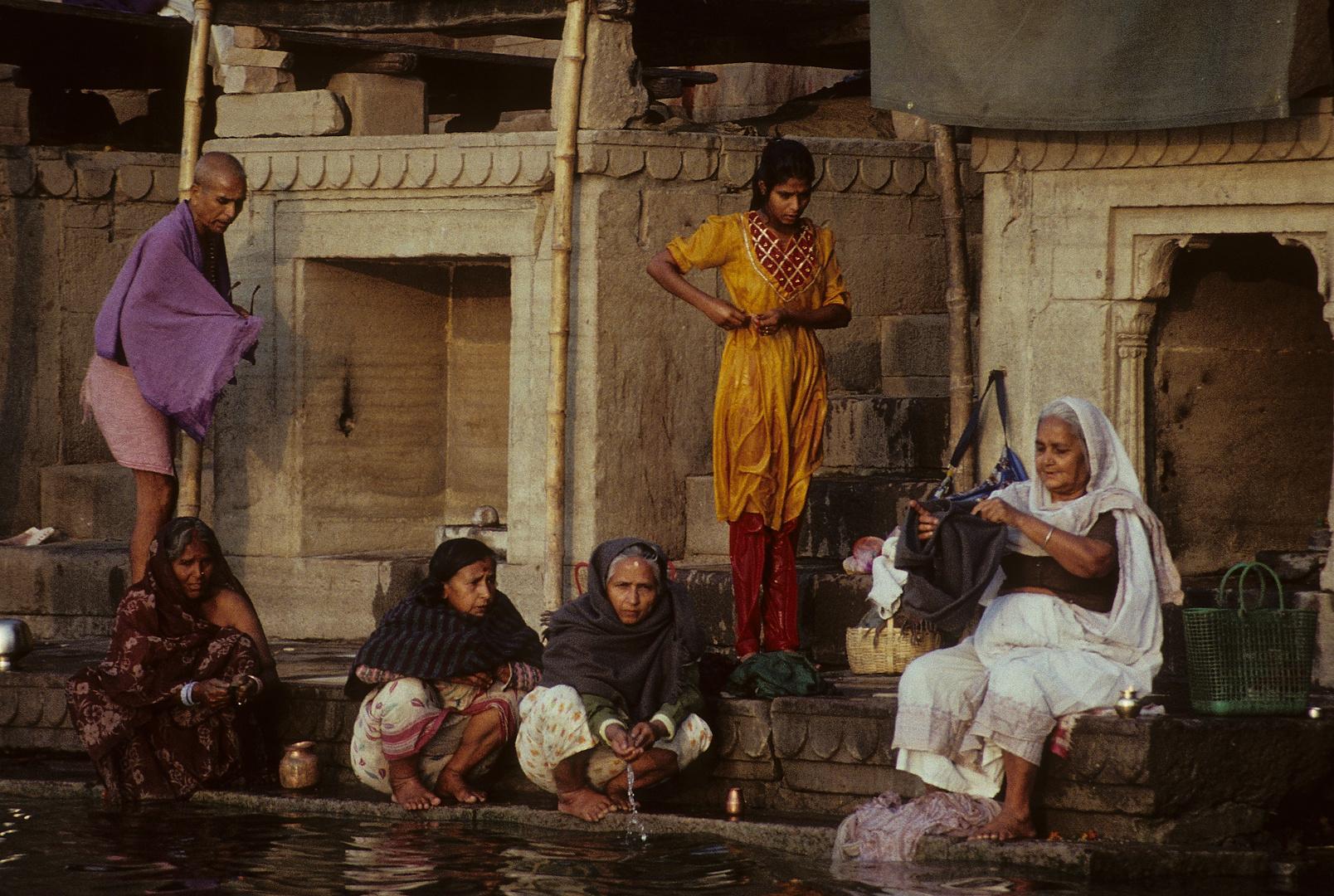 Reinigung im Ganges