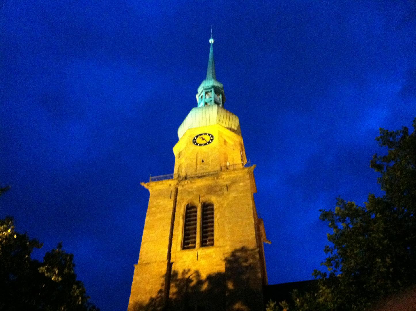 Reinoldikirche bei Nacht
