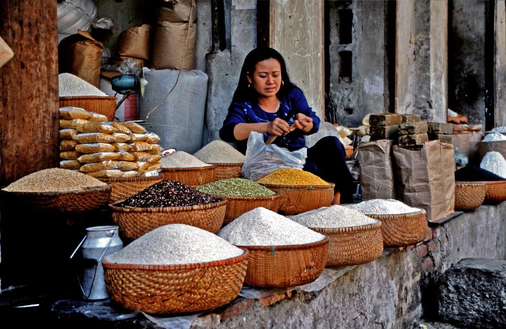 Reis, Ziegelsteine und....