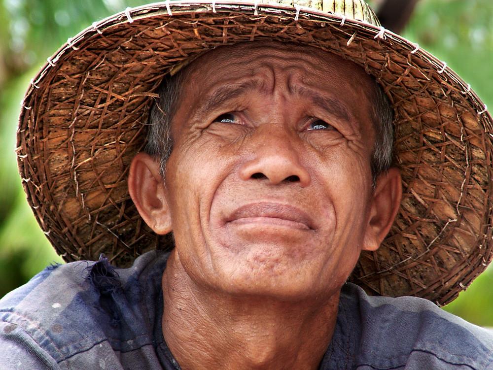 Reisbauer bei Roi Et / Thailand
