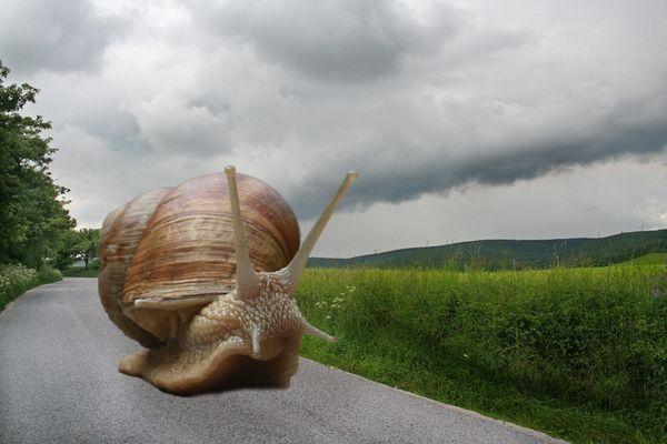 Reise durch Land