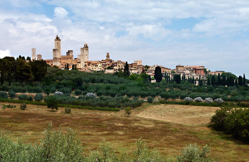 Reise in der Zeit - San Gimignano