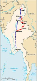 """Reisebericht: <Nord Myanmar> 07- Teil 2 """"Die Reiseroute"""""""