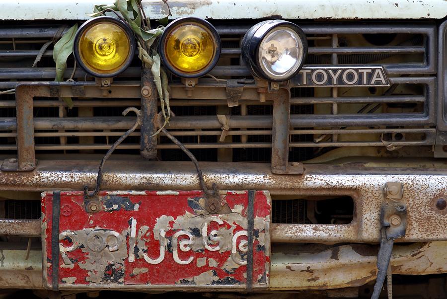 """Reisebericht:  07- Teil 33 """"Unser Toyota"""""""